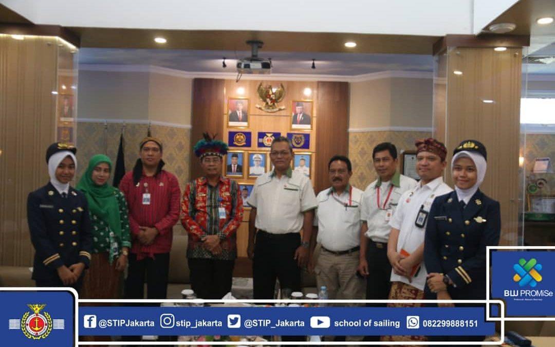 Tingkatkan Kemampuan Crew, PT.SPIL Jalin Kerjasama dengan STIP Jakarta