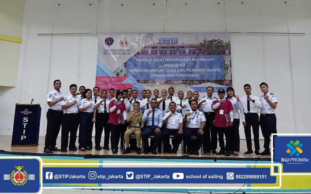 100 Students of SMK 9 Pontianak follow DPM at STIP