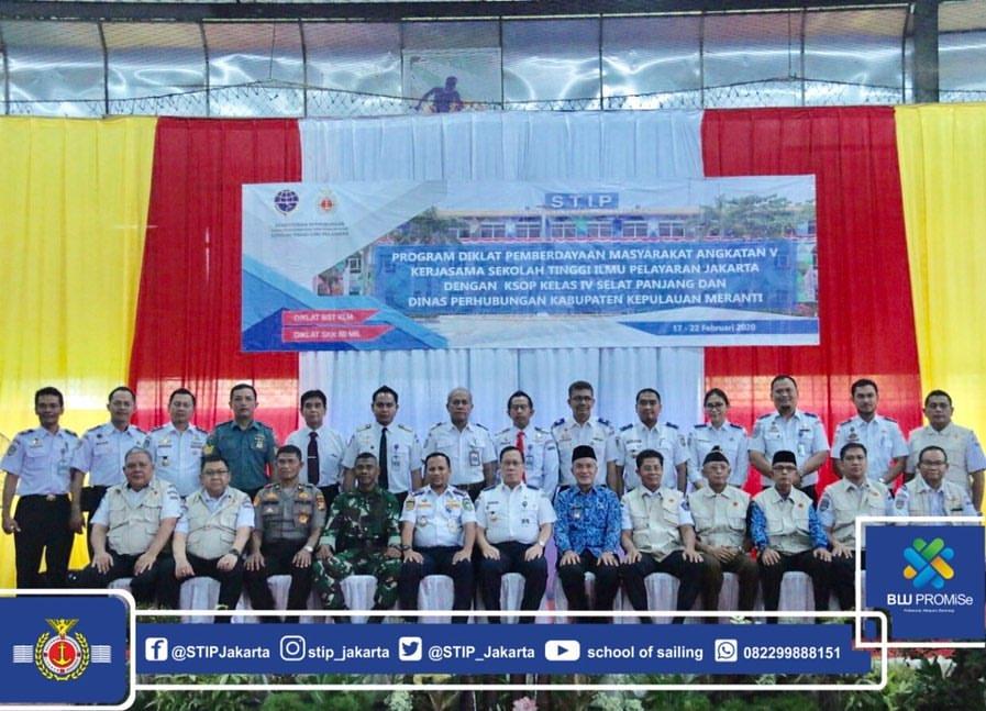 Kepala BPSDM Perhubungan Buka DPM bagi 240 Nelayan di Kepulauan Meranti