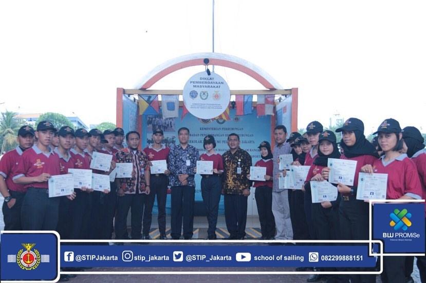 DPM STIP Jakarta Angkatan II Tahun 2020 Resmi Ditutup, 100 Siswa SMKN 9 Pontianak sebagai Peserta DPM STIP Jakarta