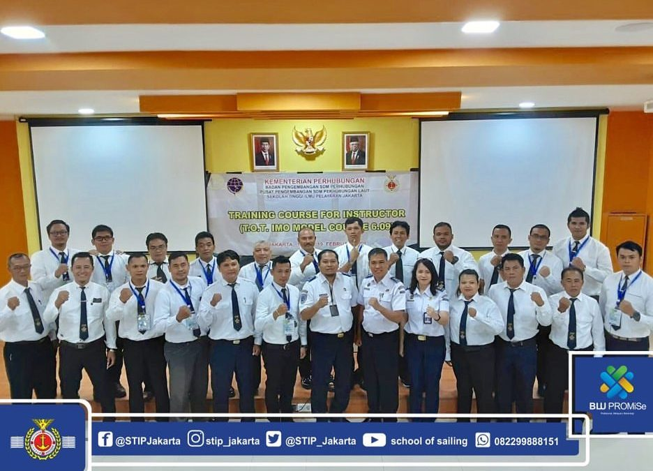 Opening of TOT IMO Model Course Training 6.09 at STIP Jakarta
