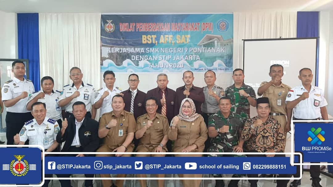 Improving Pontianak Community HR, STIP Jakarta Hand in Hand with Pontianak Regional Government Organizes DPM Force VI in West Kalimantan Province