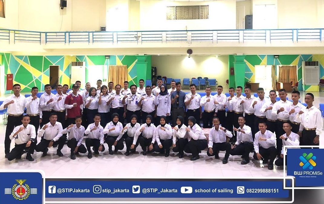 STIP Organizes Free DPM for Sailing Vocational School Students Batch VI, VII, VIII, 2020 in the Context of Printing Competent Shipping HR