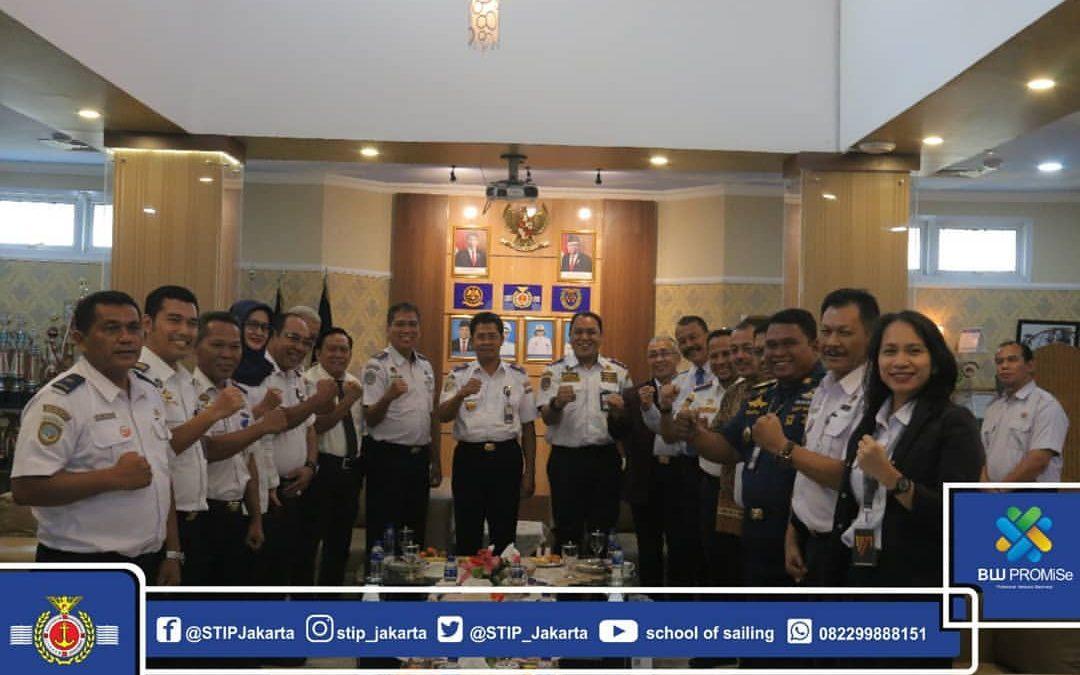 Pacu Kegiatan DPM 2020, STIP Jakarta Lakukan MOU dengan Sejumlah KSOP dan Sekolah Maritim
