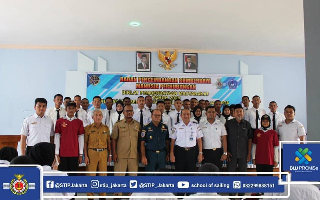 STIP Carried Out DPM for 200 Cadets of State Vocational High School 2 Ketapang