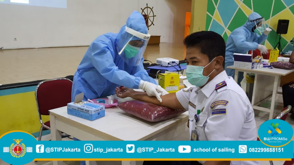 Anticipating Coronavirus: 243 STIP Employees Perform a Rapid Test
