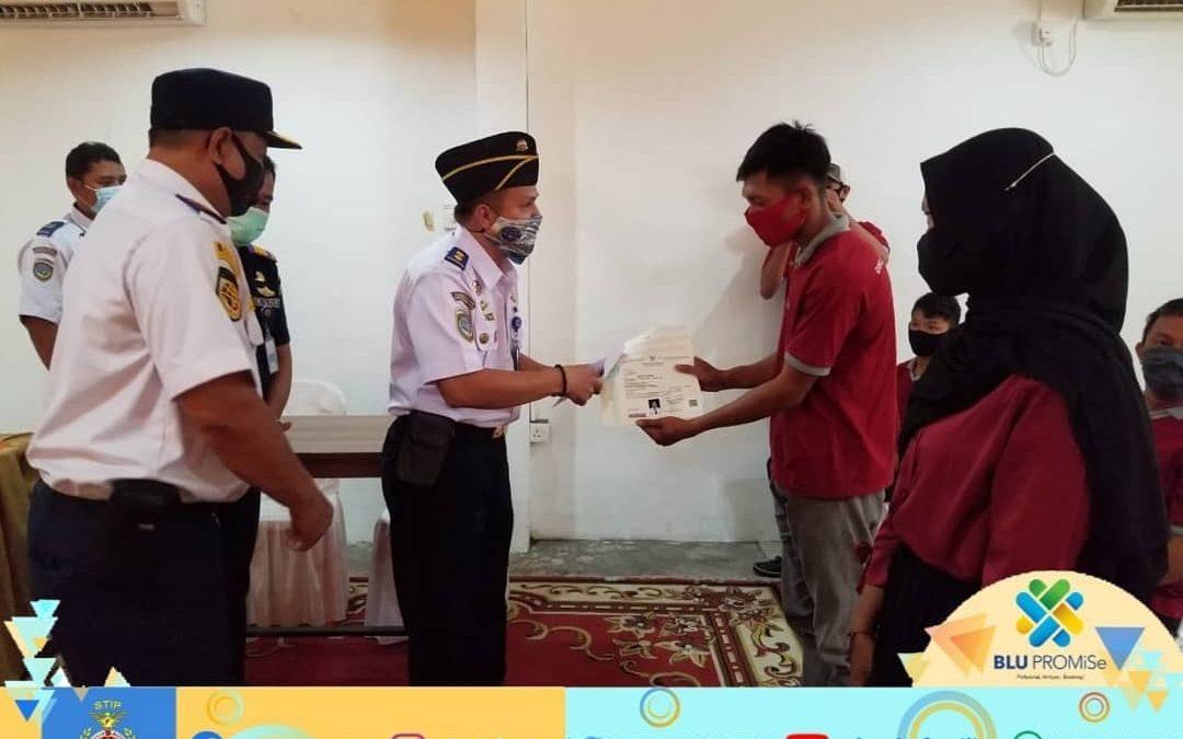 STIP bagikan 1186 Sertifikat Gratis kepada Peserta DPM Kabupaten Kepulauan Meranti