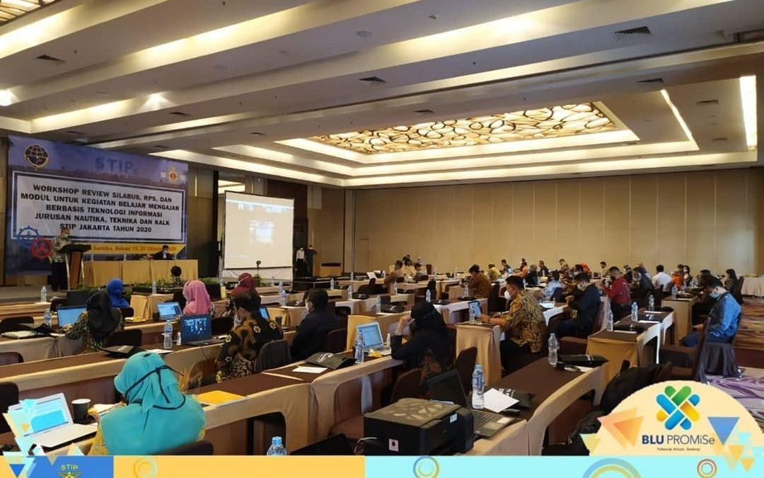 Tingkatkan Kegiatan Belajar Mengajar Berbasis Teknologi Informasi, STIP adakan Workshop Review untuk semua Jurusan di STIP